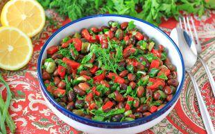 Renk Abidesi: Barbunya Salatası