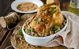 Hele O İç Pilavı Yok Mu: Tavuk Dolması