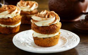 Gören Pasta Sansın: Havuçlu Tarçınlı Cupcake
