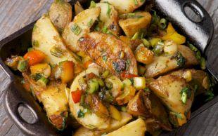 Pratikliği Gönül Alır: Fırında Sebzeli Patates