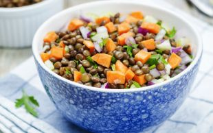 Olayı Sosunda: Havuçlu Mercimek Salatası
