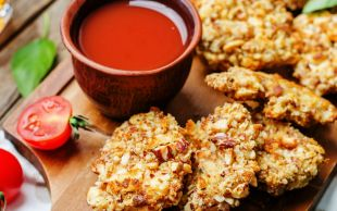 Soslar Saygı Duruşunda: Badem Kaplı Çıtır Tavuk