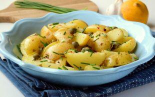 Çok Yakıştı: Kaparili Patates Salatası