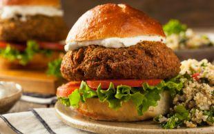 Etsiz de Olur: Falafel Burger