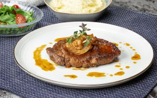 Klasik Lezzetinden Vazgeçemeyenlere: Soslu Biftek