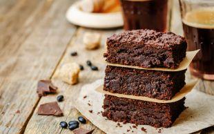 Kahve Desteğiyle: Bitter Çikolatalı Brownie