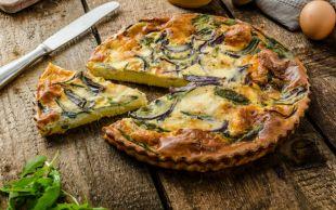 Çaysız Olmaz: Ispanaklı Peynirli Kiş