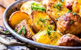 Hem Haşlanıyor Hem Fırınlanıyor: Çıtır Kabuklu Patates