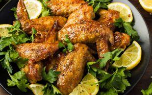 Bol Baharatlı: Limonlu Tavuk Kanatları