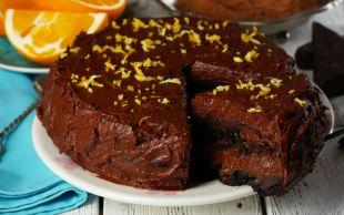 Her Anınızı Mutlu Kılmaya Geldi: Portakallı Çikolatalı Pasta