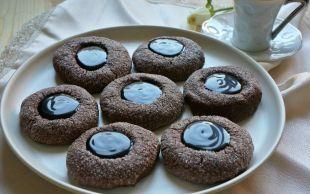 İçi Çikolata Dolgulu: Parıltılı Kurabiye