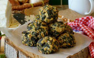 Hem de Yağsız: Peynirli Ispanak Köftesi