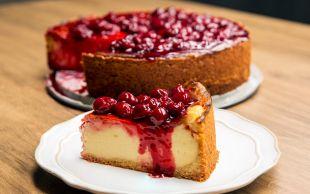 Yeni Favoriniz: Vişne Soslu Yoğurt Keki