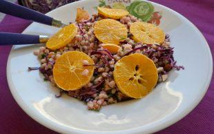 Hem Hafif Hem Doyurucu: Portakallı Buğday Salatası