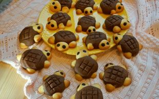 Tam Çocuklarla Yapmalık: Kaplumbağa Kurabiye