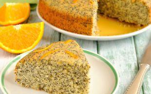 Yumuşacık Dokusuyla: Haşhaşlı Portakallı Kek