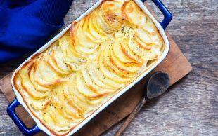 Her Yemeğin Yanına Yakışır: Fırında Sütlü Patates