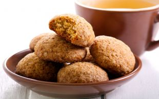 Tam Çaya Yapmalık: Pekmezli Şekersiz Kurabiye