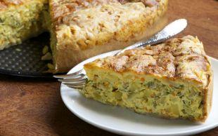 Kış Mahsüllerinden Bir Demet: Sebzeli Kek
