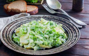 Hem Farklı Hem de Hafif: Patatesli Kereviz Salatası