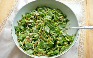 Sofranızdan Yeşili Eksik Etmeyin: Mercimekli Semizotu Salatası