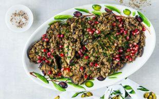 Muhteşem Uyum: Patlıcanlı Yeşil Mercimek Salatası