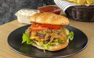 Herkes Onu Konuşacak: Ev Yapımı Burger