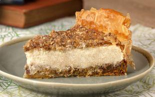 Gaziantep'ten New York'a Sevgilerle: Baklava Cheesecake
