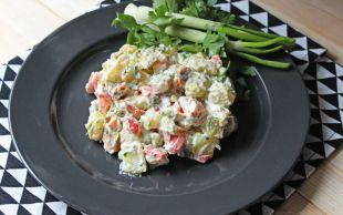 Hayran Olunası: Labneli Patates Salatası