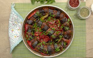 Tepside Bayram Havası: Patlıcanlı Kebap