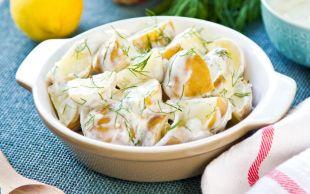 Bildiklerinizden Farklı: Yoğurtlu Patates