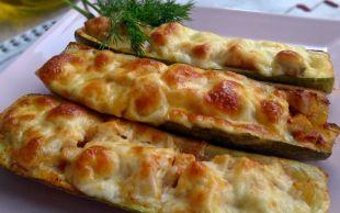 En Kolay ve Doyurucu Yemeklerden: Tavuklu Kabak Sandal