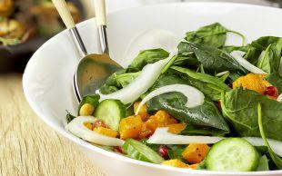 Tam Mevsiminde: Bal Kabaklı Ispanak Salatası
