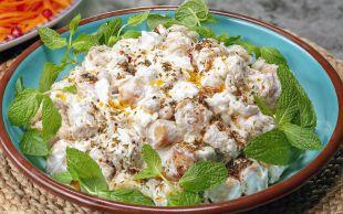 Günün Yıldızı: Çıtır Yufkalı Nohut Salatası