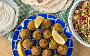 Ben Bunu Yerim: Orijinal Falafel ve Zeytin Salatası