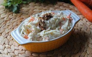 En Güzel Mezelerden: Havuçlu Kereviz Salatası