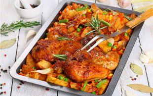 Kurutmadan Pişmenin Yolları Var: Fırında Sebzeli Tavuk