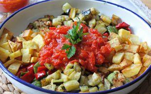 Övgüler Patlıcana: Şakşuka