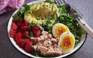 Salataların En Farklısı: Bol Proteinli Ton Balıklı Salata