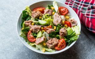 En Güzel Öğle Yemeği: Ton Balıklı Yaz Salatası