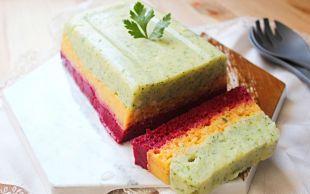 Pasta Görünümünde: Renkli Patates Salatası