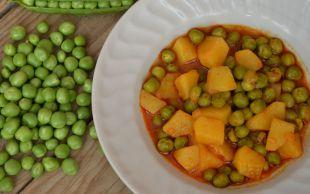 Bol Zeytinyağlı: Taze Bezelye Yemeği