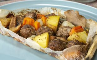 Fırında Pişen, Sağlık Dolu: Kağıtta Sebzeli Köfte