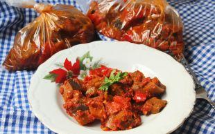 Buzlukta Hep Hazır Yemeğiniz Olsun: Kışlık Patlıcan