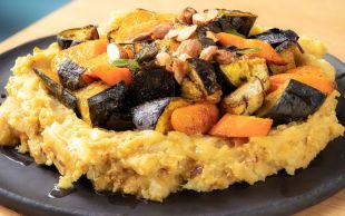 Baharatlı Sebzelerle: Mercimekli Patates Püresi