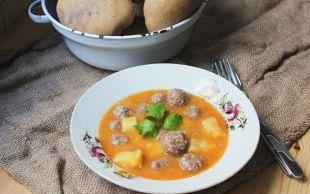 Tam Bir Tencere Yemeği: Patatesli Sulu Köfte