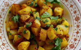 Farklı Bir Yancı: Zerdeçallı Patates Kavurması