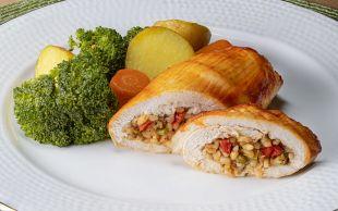Yemelere Doyamazsın: Bulgurlu Tavuk Sarma