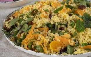 Ben Bunu Yerim: Mandalinalı Bulgur Salatası