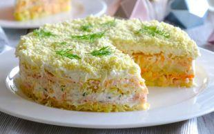 Bu Salata Çok Başka: Mimoza Salatası